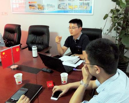 公司总经理蔡永超荣获高新区党代表